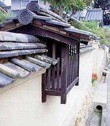 梶谷邸の武者窓