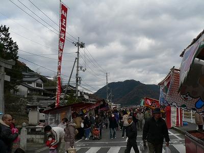 稲荷神社前