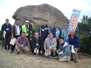 学ぶの班は白石島探訪