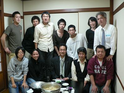 太田さんを囲んで懇談会