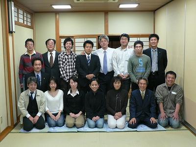 萩原社長、太田さんを囲んで懇談会