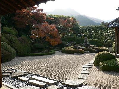 この日の頼久寺庭園