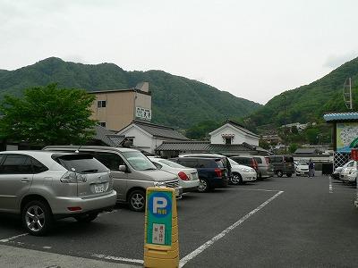 観光駐車場も満車