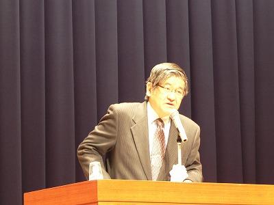 小野晋也氏による記念講演