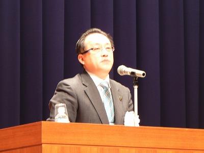 近藤市長による基調講演