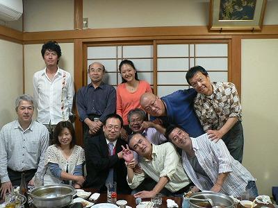 前日・遠州茶道宗家吉田さんを囲む会