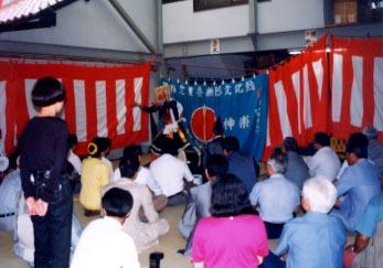 第3回岡山幻の日本酒を飲む会を初の高梁市(土井さん)で開催・「備中神楽」