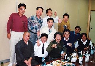 小堀遠州公顕彰シンポシウム前夜祭・栗田先生を囲んで