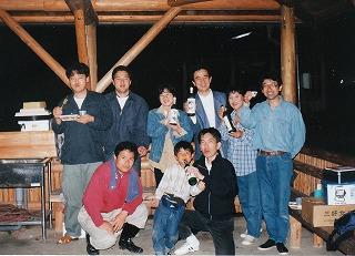 高知県香北町「物部川遊・裕共和国」へ参加・こうち元気者交流会のブースに出店・前夜祭
