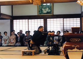 小堀遠州公没後350年記念事業協力・小堀宗慶家元「献茶式」