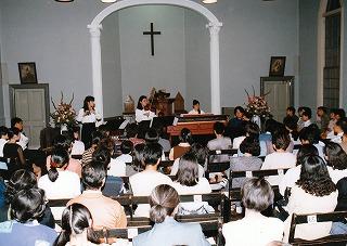 高梁基督教会でバロック音楽の夕べ(高知と交流)・共催