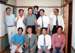 師 福井県立大学経済学部教授 岡崎先生を囲んで
