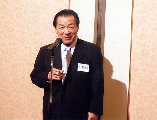 岡山地域づくり交流会目瀬会長の乾杯
