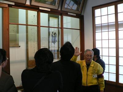 NPO法人備中玉島観光ガイド協会西理事長